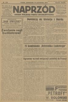 Naprzód : organ Polskiej Partji Socjalistycznej. 1929, nr235