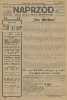 Naprzód : organ Polskiej Partji Socjalistycznej. 1929, nr244