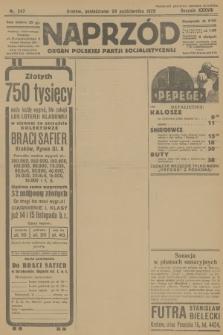Naprzód : organ Polskiej Partji Socjalistycznej. 1929, nr247
