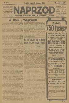 Naprzód : organ Polskiej Partji Socjalistycznej. 1929, nr250