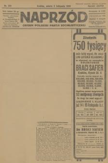 Naprzód : organ Polskiej Partji Socjalistycznej. 1929, nr251