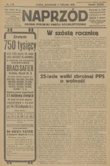 Naprzód : organ Polskiej Partji Socjalistycznej. 1929, nr258
