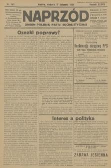 Naprzód : organ Polskiej Partji Socjalistycznej. 1929, nr263
