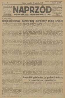 Naprzód : organ Polskiej Partji Socjalistycznej. 1929, nr266