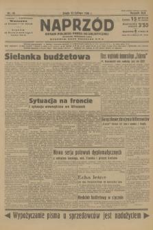 Naprzód : organ Polskiej Partji Socjalistycznej. 1936, nr48