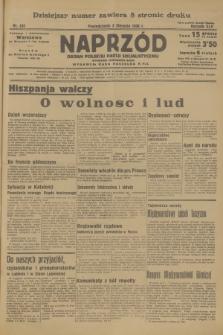 Naprzód : organ Polskiej Partji Socjalistycznej. 1936, nr245