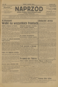 Naprzód : organ Polskiej Partji Socjalistycznej. 1936, nr276