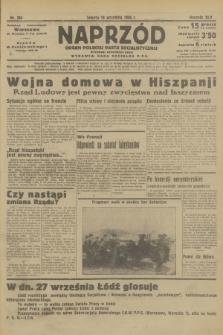 Naprzód : organ Polskiej Partji Socjalistycznej. 1936, nr294