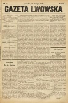 Gazeta Lwowska. 1903, nr34