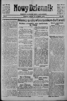 Nowy Dziennik. 1918 , nr66