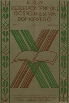 Kursy Korespondencyjne Gospodarstwa Domowego. R.2, 1931, Zeszyt26