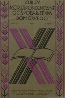Kursy Korespondencyjne Gospodarstwa Domowego. R.2, 1931, Zeszyt28