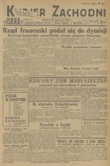 Kurjer Zachodni Iskra. R.29, 1938, nr14