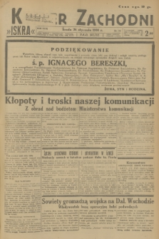 Kurjer Zachodni Iskra. R.29, 1938, nr25