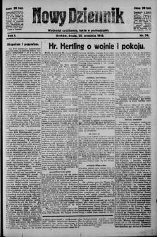 Nowy Dziennik. 1918 , nr76