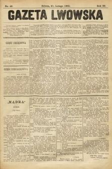 Gazeta Lwowska. 1903, nr42