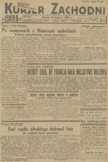 Kurjer Zachodni Iskra. R.29, 1938, nr226