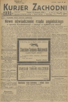 Kurjer Zachodni Iskra. R.29, 1938, nr233