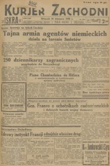 Kurjer Zachodni Iskra. R.29, 1938, nr237