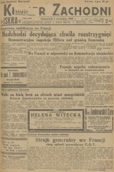 Kurjer Zachodni Iskra. R.29, 1938, nr239 + dod.