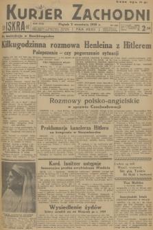 Kurjer Zachodni Iskra. R.29, 1938, nr240
