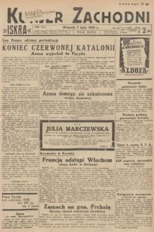 Kurjer Zachodni Iskra. R.30, 1939, nr38