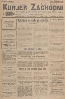 Kurjer Zachodni Iskra : dziennik polityczny, gospodarczy i literacki. R.18, 1927, nr1