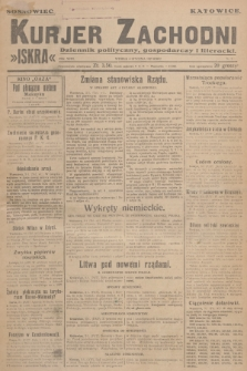 Kurjer Zachodni Iskra : dziennik polityczny, gospodarczy i literacki. R.18, 1927, nr3