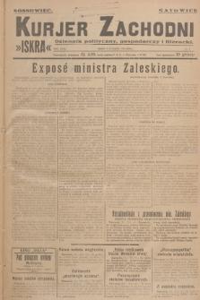 Kurjer Zachodni Iskra : dziennik polityczny, gospodarczy i literacki. R.18, 1927, nr4