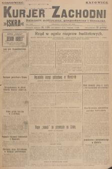Kurjer Zachodni Iskra : dziennik polityczny, gospodarczy i literacki. R.18, 1927, nr5