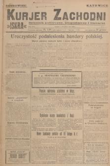 Kurjer Zachodni Iskra : dziennik polityczny, gospodarczy i literacki. R.18, 1927, nr6