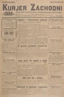 Kurjer Zachodni Iskra : dziennik polityczny, gospodarczy i literacki. R.18, 1927, nr7