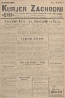 Kurjer Zachodni Iskra : dziennik polityczny, gospodarczy i literacki. R.18, 1927, nr30