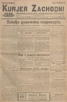 Kurjer Zachodni Iskra : dziennik polityczny, gospodarczy i literacki. R.18, 1927, nr67