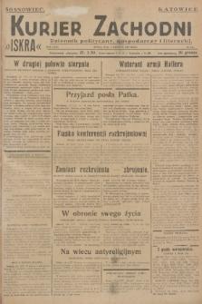 Kurjer Zachodni Iskra : dziennik polityczny, gospodarczy i literacki. R.18, 1927, nr211