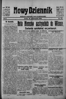 Nowy Dziennik. 1918 , nr111