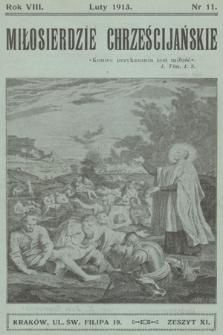 Miłosierdzie Chrześcijańskie. R.8 [i.e.9], 1913, nr10