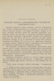 Bellona : miesięcznik wojskowy wydawany przez Wojskowy Instytut Naukowo-Wydawniczy. R.7, T.14, 1924, Zeszyt2