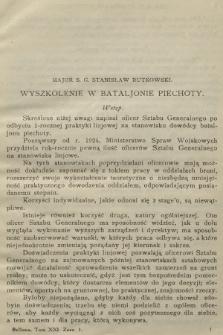 Bellona : miesięcznik wojskowy wydawany przez Wojskowy Instytut Naukowo-Wydawniczy. R.9, T.21, 1926, Zeszyt1