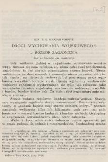 Bellona : miesięcznik wojskowy wydawany przez Wojskowy Instytut Naukowo-Wydawniczy. R.10 [i.e.11], T.29, 1928, Zeszyt2