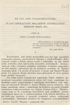 Bellona : dwumiesięcznik wojskowy wydawany przez Wojskowy Instytut Naukowo-Wydawniczy. R.14, T.40, 1932, Zeszyt2