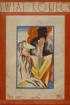 Świat Kobiecy. R.7, 1927, nr4