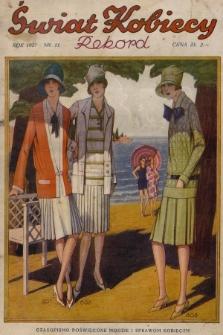 Świat Kobiecy. R.7, 1927, nr11