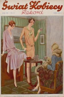 Świat Kobiecy. R.8, 1928, nr19 + dod. + wkładka