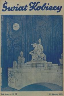 Świat Kobiecy. R.8, 1928, nr22