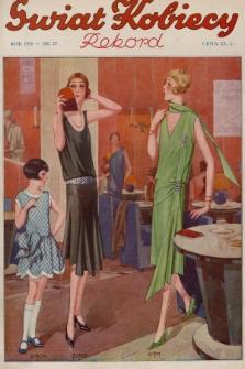 Świat Kobiecy. R.8, 1928, nr23 + dod. + wkładka