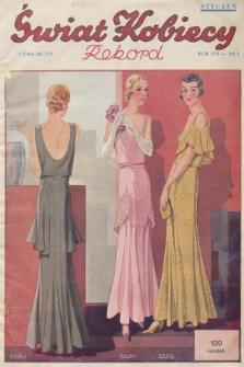 Świat Kobiecy. R.11, 1931, nr1