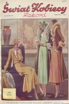 Świat Kobiecy. R.11, 1931, nr3