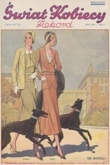 Świat Kobiecy. R.11, 1931, nr17
