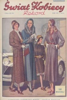 Świat Kobiecy. R.11, 1931, nr19